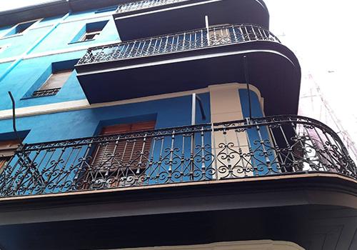 REFORMAS JK RODRIGUEZ fachada azul